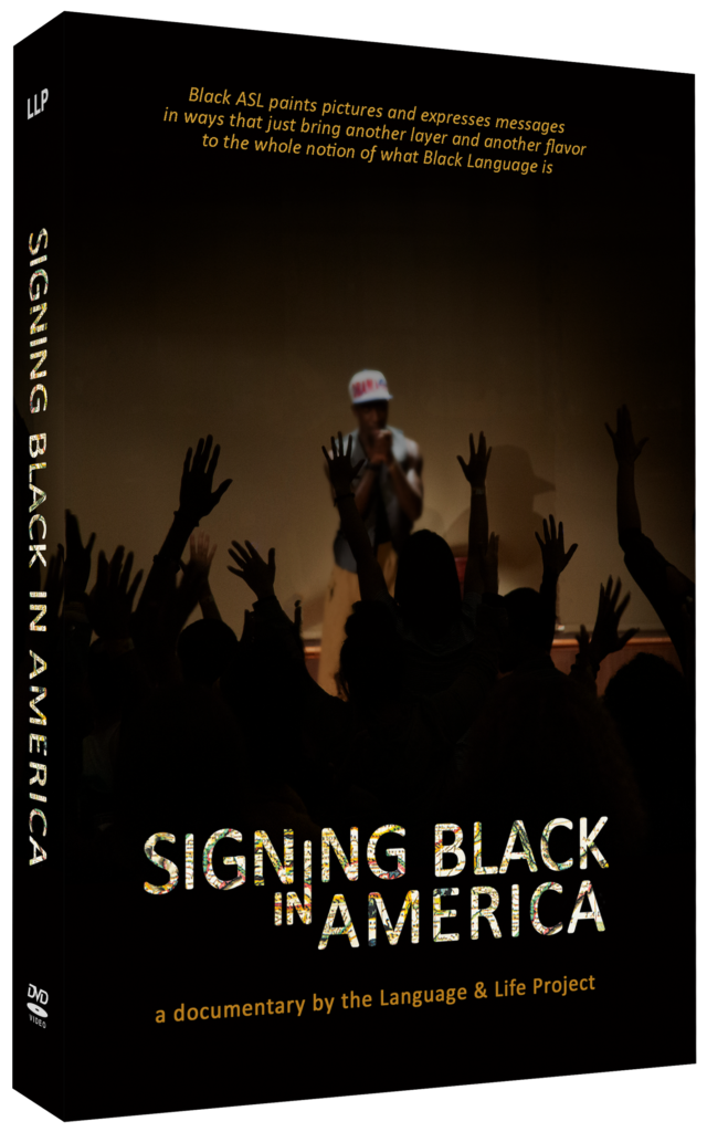 Signing Black in America DVD cover